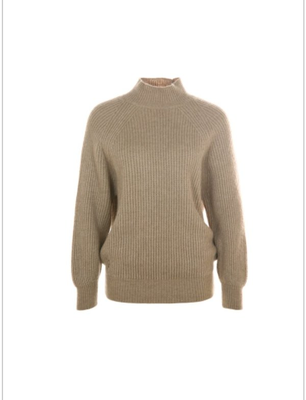 90023 - 223 Funky Staff Pullover Oslo camel